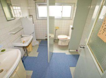 二階のトイレ。